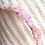 Thumbnail: Pink Rose Polymer Clay Metal Headband