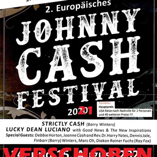 2. Johnny-Cash-Festival  | VERSCHOBEN auf 2021