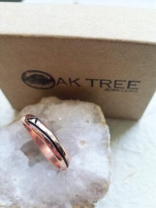 Handmade Copper Chi Rho Ring