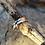Thumbnail: Handmade Sterling Silver Chi Rho Ring