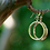 Thumbnail: Gold Hoop Earrings