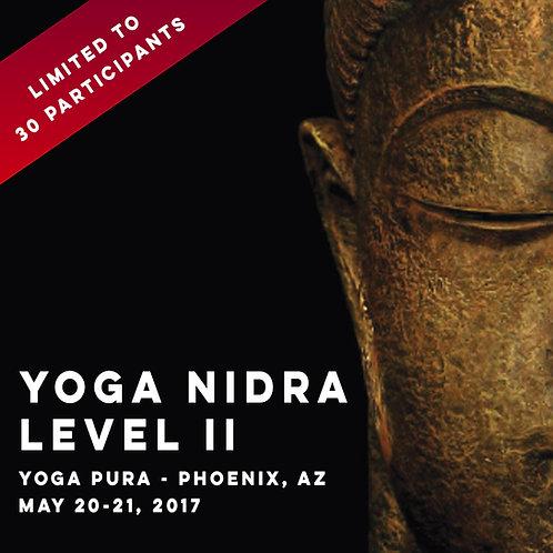 Yoga Nidra Instructor Certification Level II