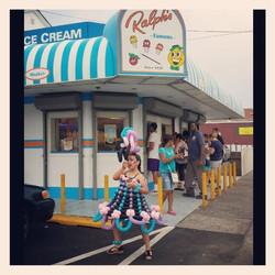 Balloon Dress at Ralph's Ices