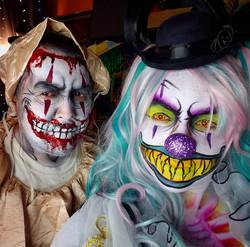 Killer Clown Couple