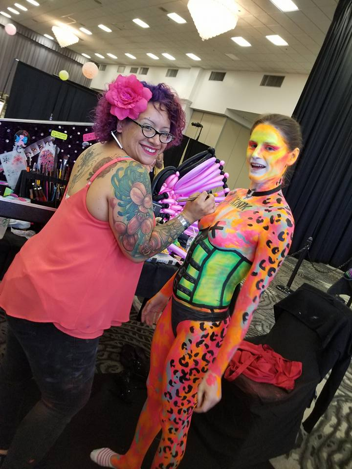 Body paint competition