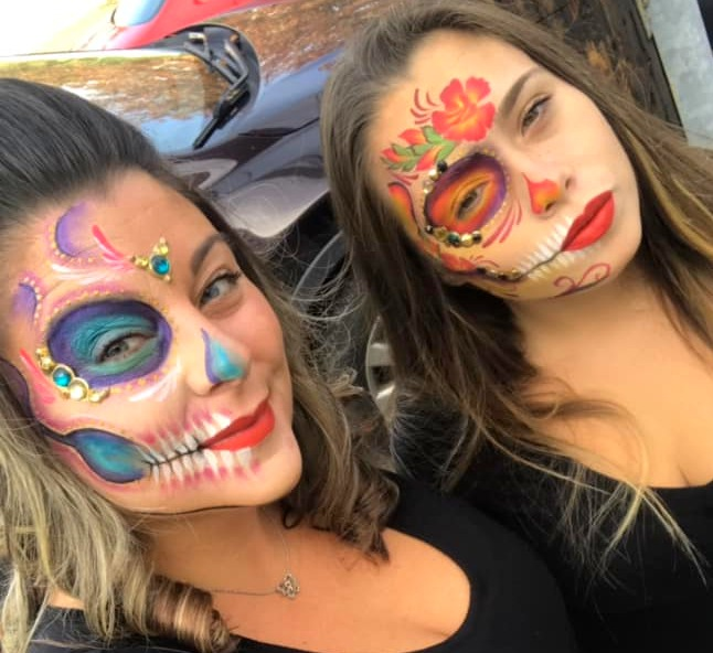 sister face paint