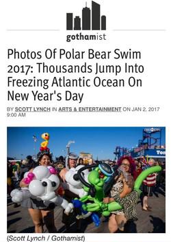 Coney Island Polar Bear Plunge