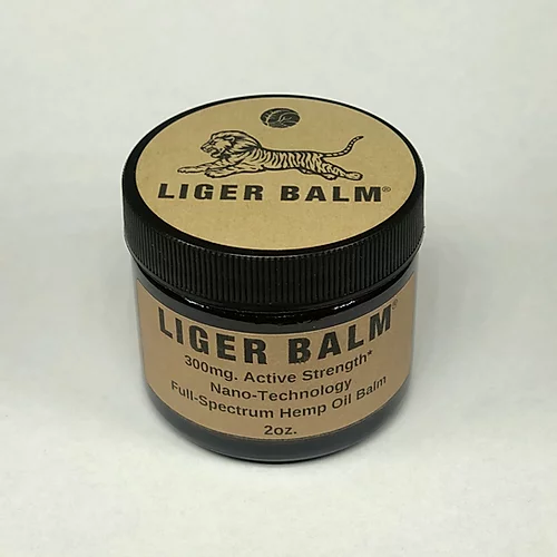 LIGER BALM™ - 300mg. Active Strength* Nano-Technology Hemp Oil Balm