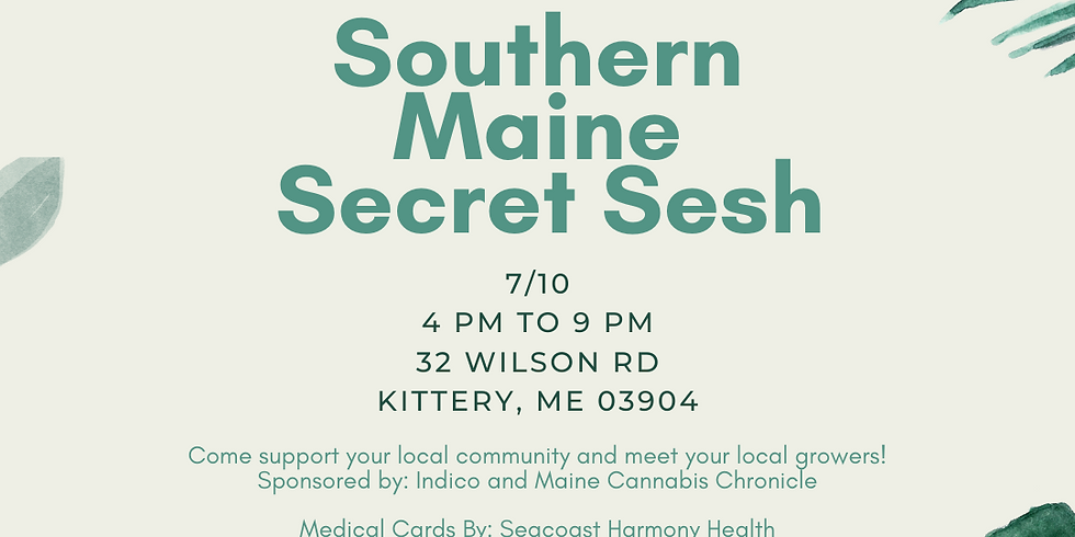 7:10 Southern Maine Secret Sesh