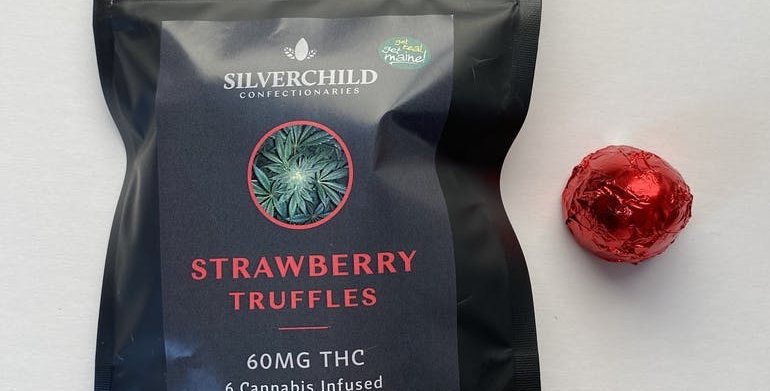 Strawberry Truffles 60 mg