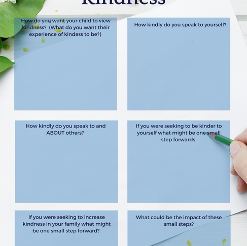 5 Minute Reflection - Kindness