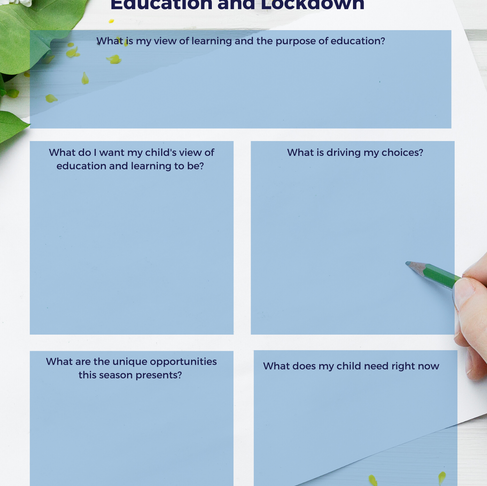 Confidently managing your child's education - lockdown and beyond
