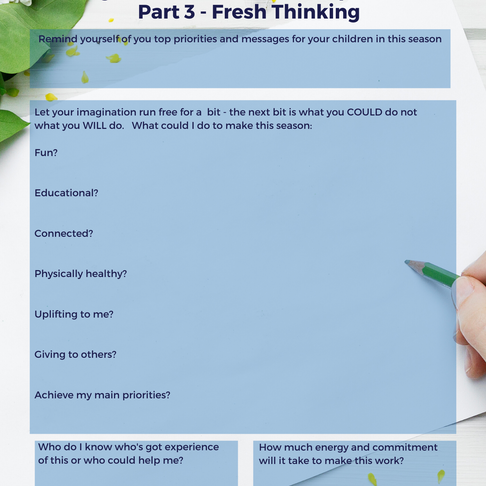 Making Life Work When The Chips Are Down - Part 3 - Fresh Thinking
