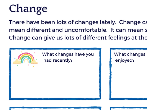 Change - How Are You Feeling?