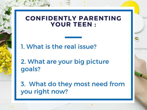 Confidently Parenting Your Teenager