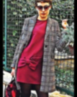 Street mood con borsa Prada camouflage,