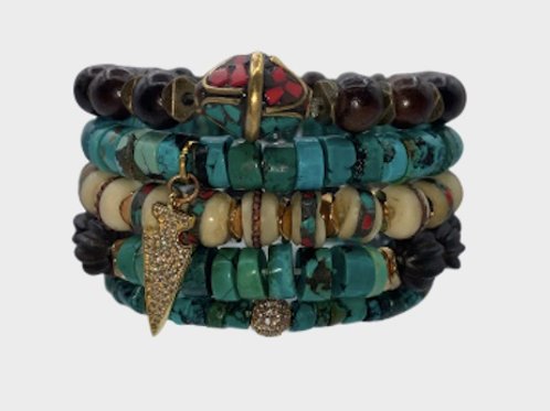 Turquoise Stack