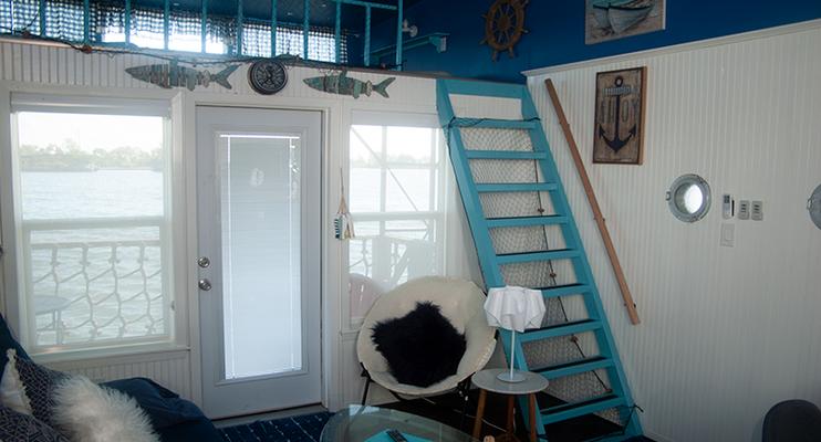Back door and loft