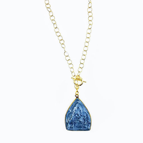 Thai Buddha Gold Chain Necklace