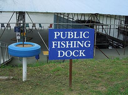 PublicFishing Dock sign.png