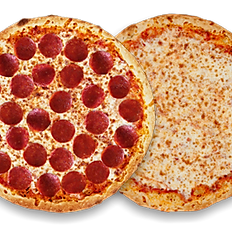2 Small Pizzas & 3 Topping each