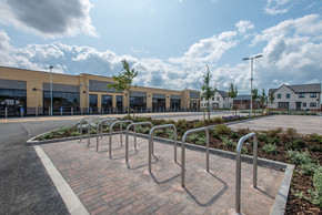 Work complete on Monks Way retail park in Hull