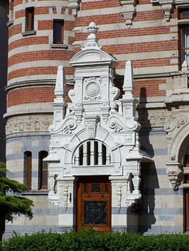 Neo-Gothic Building