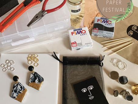 TFH x Brown Paper Festival      Earrings Workshop