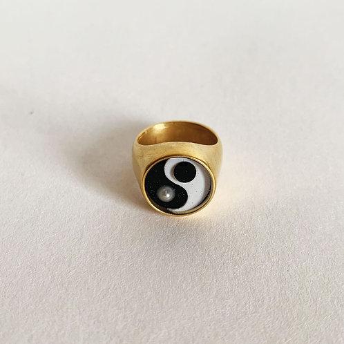 Gold Balance Ring