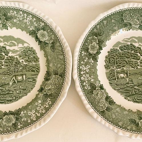 English Scenic Plates