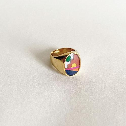 Gold Verd Ring