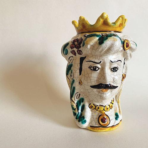 Sicilian Ceramic Head Vase