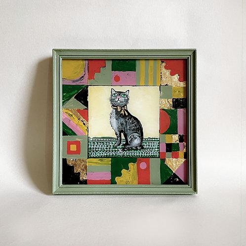 Right Charleston Cat Painting