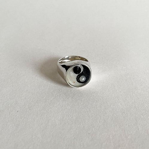 Silver Balance Ring
