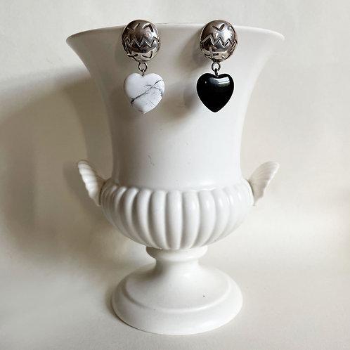 Silver Formas Earrings