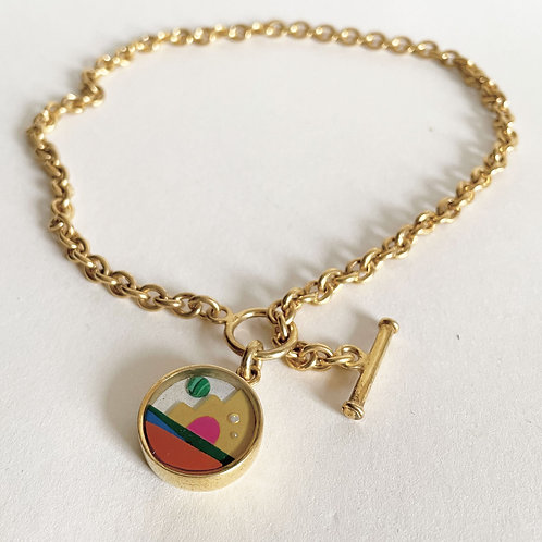 Gold Smile Necklace