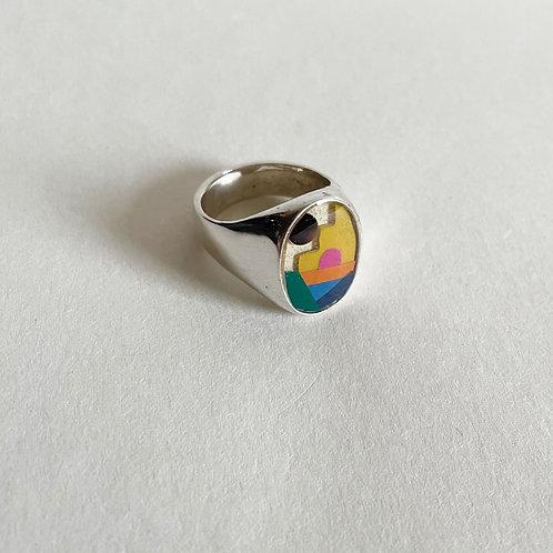 Silver Playa Ring