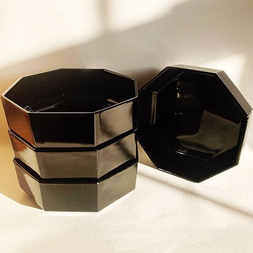 80's Luminarc Hexagon Bowls