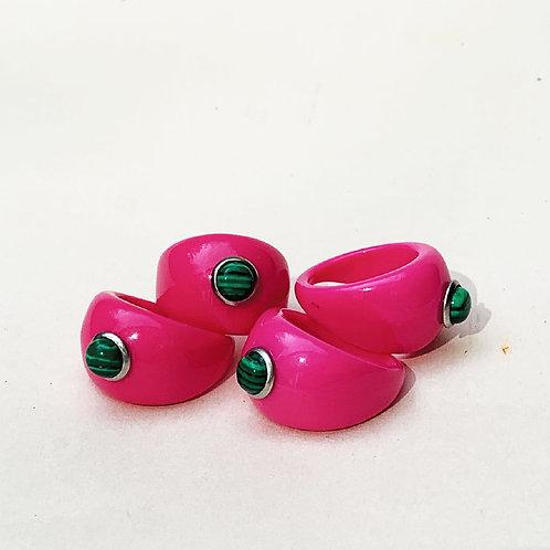 Tutti Frutti Rings - Pink