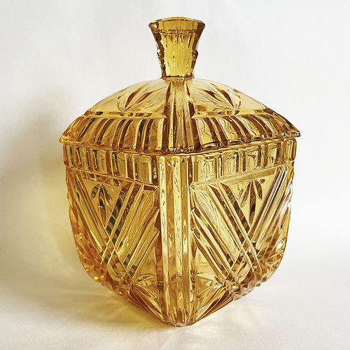 Amber Storage Jar