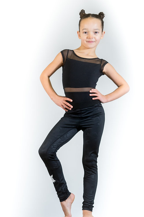 Female & Youth Unisex Leggings BlackCamo