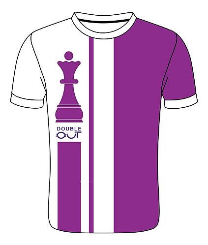 Trikot-Shirt - Double Out - Chess - Premium - Dame