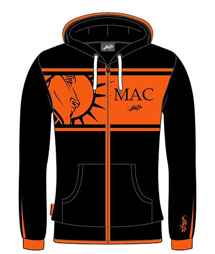 Hoody - Zipper - MAC - Limited Collection
