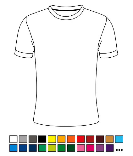 T-Shirt - Blanko - Basic - Atmungsaktiv - High Quality