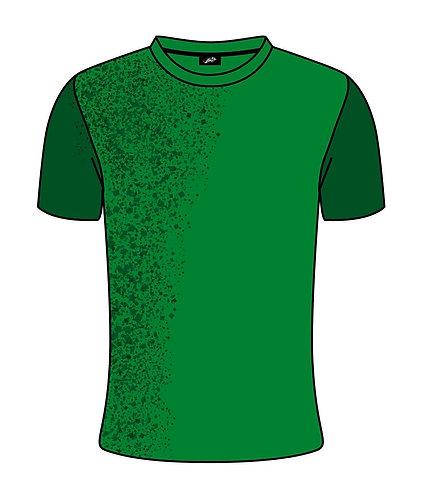 Warm Up-Shirt - MY Five - Scroll - atmungsaktiv