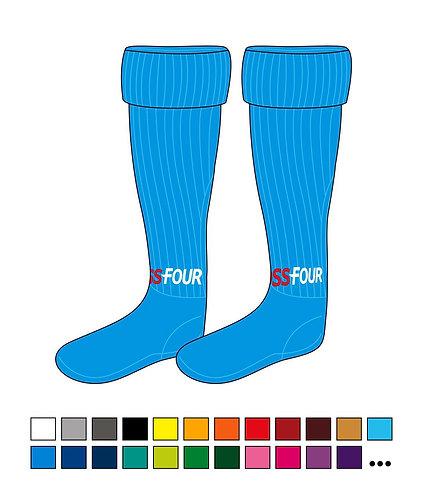 Stutzen - Foss Four - Base - mit Sockenfuß