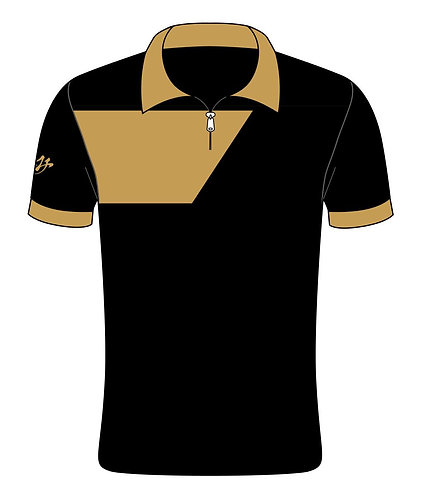 Polo - Jersey - MY Five - Gold Black
