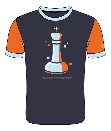 Trikot-Shirt - Double Out - Chess - König
