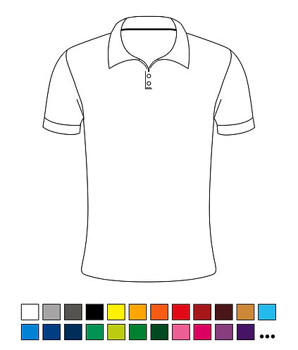 Polo-Shirt - Blanco - Basic - High-Quality