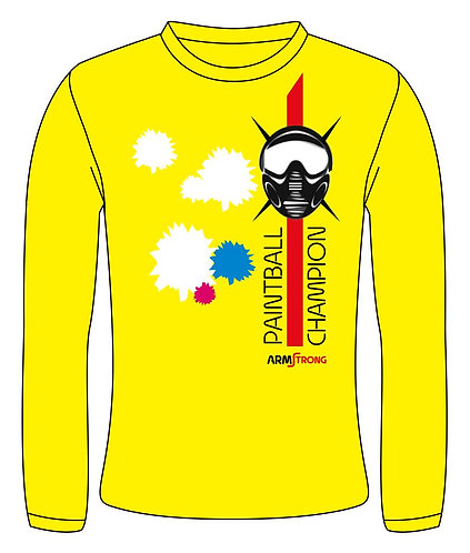 Langarm-Shirt - Armstrong - Paintball - Shoot